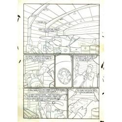 Krampus Sleigh ride Original Art